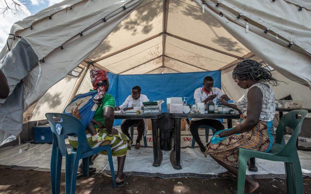 Centro de atención primaria e xestión sanitaria en campo de John Segredo (Mozambique) // Czuko Williams _ Médicos del Mundo.