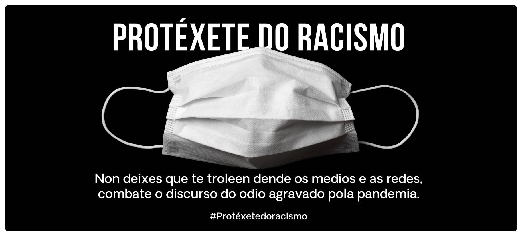 protéxete do racismo lugo