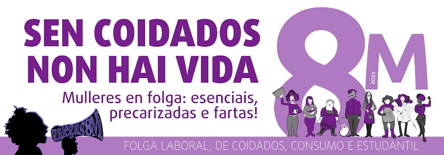 folga de mulleres 8 de marzo 2021